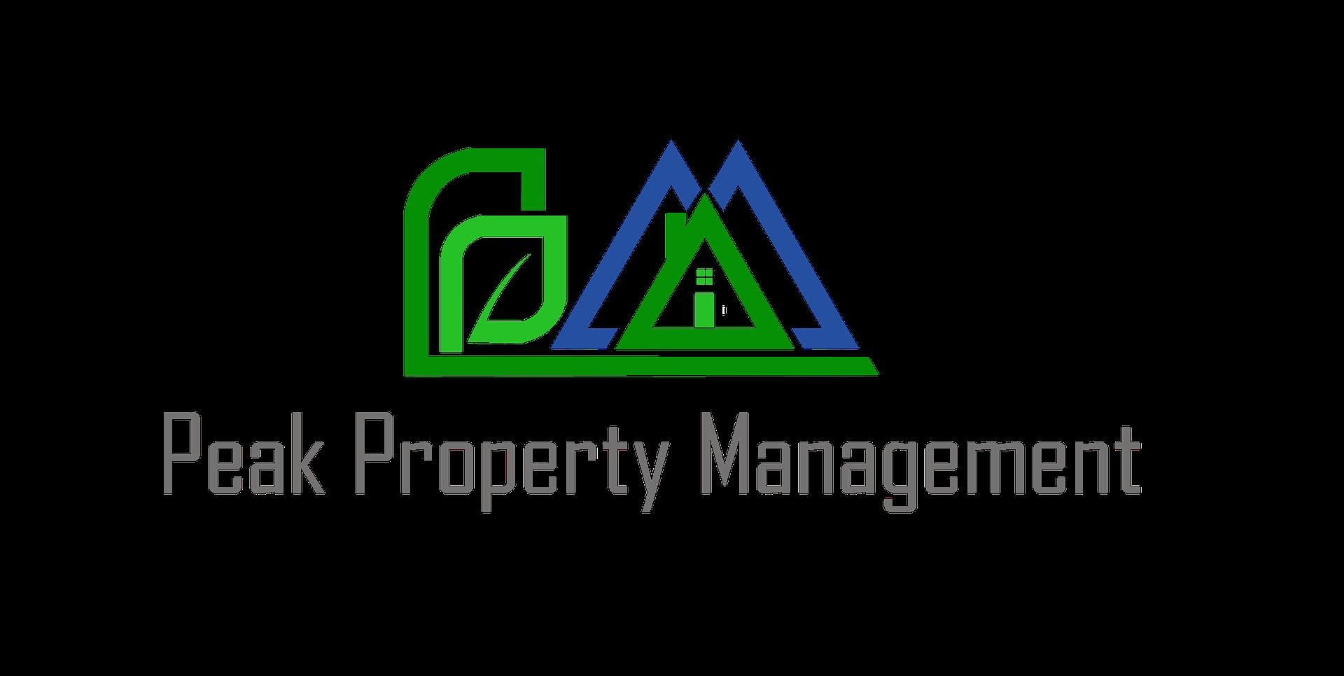 Peak property management logo